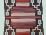 Teec Nos Pas (Navajo) Single Saddle Blanket
