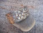 Vintage Mexican Repousse Bracelet
