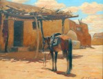 "(Sold) Carl Schmidt – ""Taos, New Mexico"""
