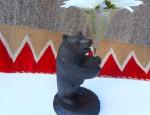 Black Forest Bear Epergne