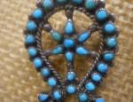 Zuni Turquoise Pin