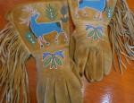 (Sold) Plateau Elk Gauntlets