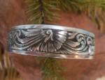 (sold) Ernie Marsh – Sterling Silver Cuff Bracelet