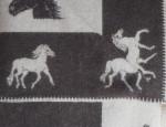 Horses Wool Blanket