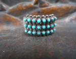 (sold) Zuni 3-Row Ring