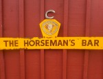 (On Hold) – Horseman's Bar Tin Sign