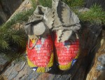 Porcupine Quilled Child's Moccasins