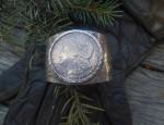 Silver Dollar Bracelet