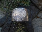 (sold) Silver Dollar Bracelet