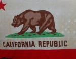 (sold) Vintage California Flag