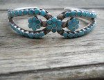 (Sold) Dishta Three Flower Bracelet