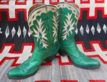 Green PeeWee Boots