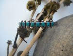 Zuni Bracelet with Square Stones
