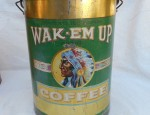 Wake Em Up Coffee Tin