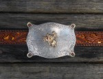 (Sold) Steer Rider Buckle