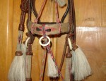 Horsehair Bridle with Showy Bit