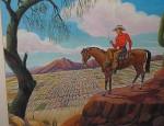 Frank Childers – Cowboy Overlooking Phoenix
