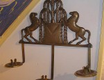 Horse Sconce