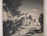 Toni Frisell – Sun Valley Ski Lithograph