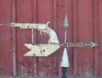 Six-Shooter Weathervane