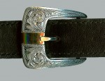 Clint Orms – Sterling and Gold Ranger Buckle