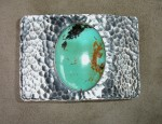 Clint Orms Turquoise Trophy Buckle
