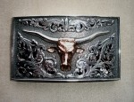 Clint Orms Longhorn Trophy Buckle