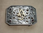 Clint Orms Custom Buckle