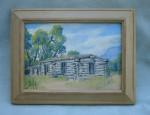 Marie Dolph – Log Cabin Oil