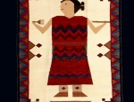 Award Winning Navajo Woman Rug