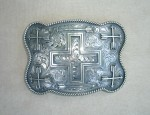 Clint Orms Cross & Arrow Trophy Buckle