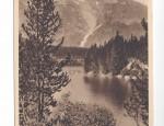 Grand Teton Real Photo Postcard – Leigh Lake