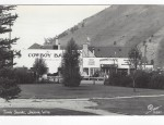 Jackson Hole Real Photo Postcard – Town Square