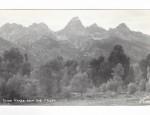 Grand Teton Real Photo Postcard – Tetons