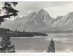 Grand Teton Real Photo Postcard – Jackson Lake