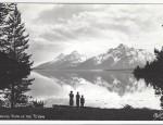 Grand Teton Real Photo Postcard – Evening