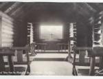 Grand Teton Real Photo Postcard – Church