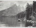 Grand Teton Real Photo Postcard – Jenny Lake