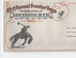Cheyenne Frontier Days Promotional Ephemera