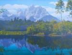 Harrison Crandall – Mirrored Granite Peaks