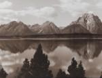 Harrison Crandall – Large Sepia Teton Panorama
