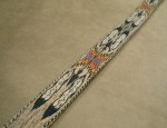 "38 Inch ""Eagle Feathers"" Hitched Horsehair Belt – Contemporary"