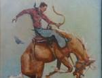 Olaf Wieghorst – Bronc Rider