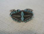 Dishta – Style Flush Inlay Bracelet Circa 1950