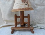 Pine and Aspen Table Lamp