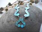 Zuni Inlaid Necklace Circa 1950-1960