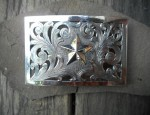 Texas Star Filigree Buckle