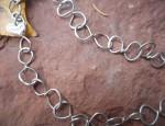 Margaret Sullivan – Silver Figure Eight Chain