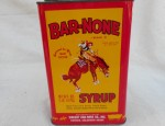 Bar None Syrup Tin