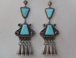 Early Pueblo Drop Earrings